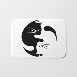 Cat ying yang Bath Mat