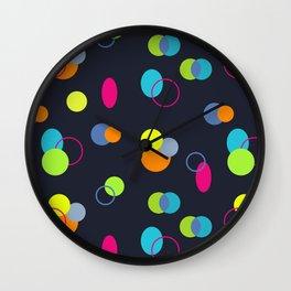 Candies Pattern Wall Clock