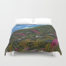 Foxglove Hedgerow Duvet Cover