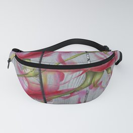 Wood roses Fanny Pack