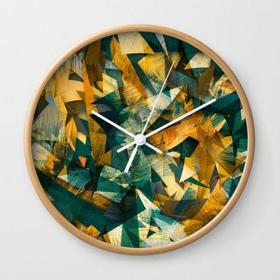 Raw Texture Wall Clock