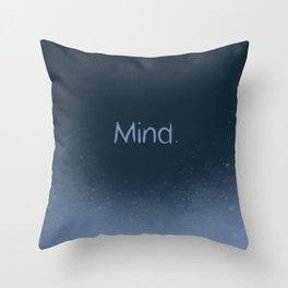 Mind Throw Pillow