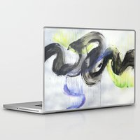 northern lights Laptop & iPad Skins featuring Northern Lights by amity