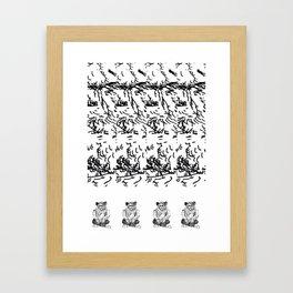 Roxy Fox Framed Art Print