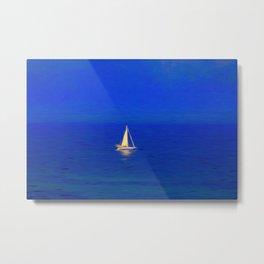Art Of Sailing Metal Print