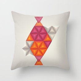 Samba in Rio Throw Pillow