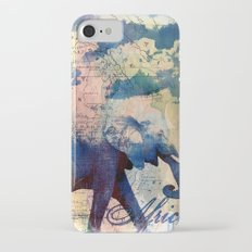 Elephants Journey iPhone 7 Slim Case