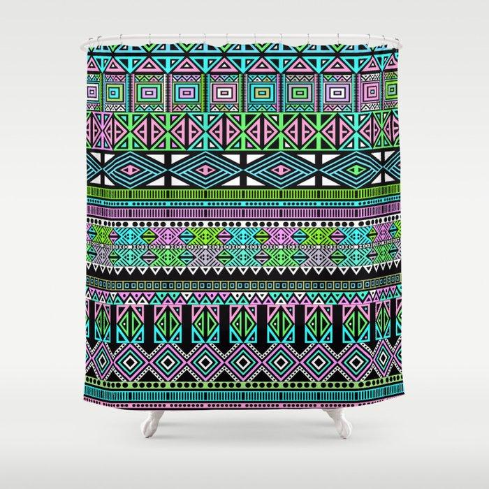 Aztec Shower Curtain By Fimbis