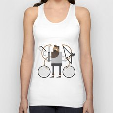 Back to Fixie Business Unisex Tank Top