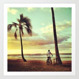 Hale'iwa Beach Park Art Print