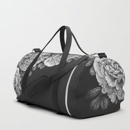 Flowers in the night Duffle Bag