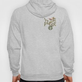 Teach Peace on Earth Hoody