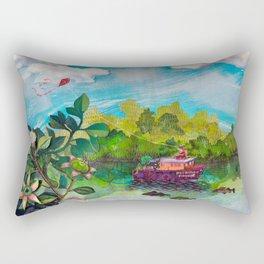 Paradise Found Rectangular Pillow