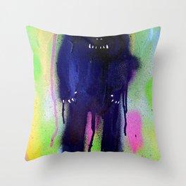 night-bear Throw Pillow