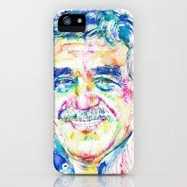 GABRIEL GARCIA MARQUEZ portrait iPhone Case