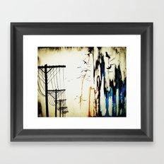pylons Framed Art Print