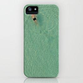 Aerial Swim iPhone Case