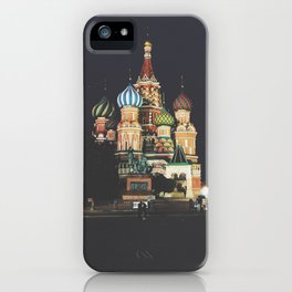 Saint Basil's Cathedral Moscow iPhone Case