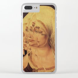 Another Portrait Disaster · mit Albrecht Clear iPhone Case