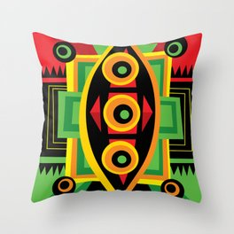 Power Shield Throw Pillow