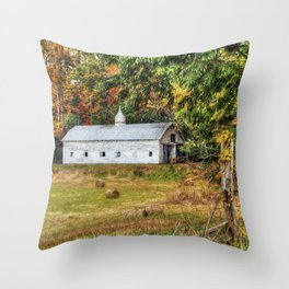Fall Along 57 Throw Pillow