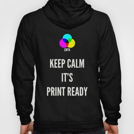 Print Ready Dark Hoody