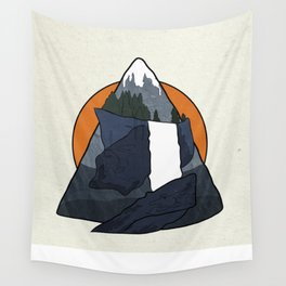 Vernal Falls  Wall Tapestry