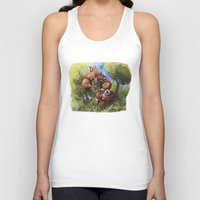 red hood Tank Tops featuring Red Hood by Jose Luis Ocana