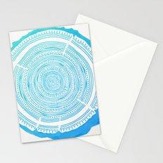 Douglas Fir – Blue Ombré Stationery Cards