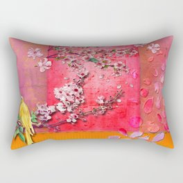 Cherry Garden Prince Rectangular Pillow