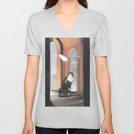 It's Lonely at the Top Unisex V-Neck