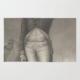 Vintage George Washington Portrait (1854) Rug