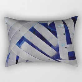 water stripes Rectangular Pillow