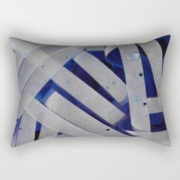 water stripes Rectangular Pillow