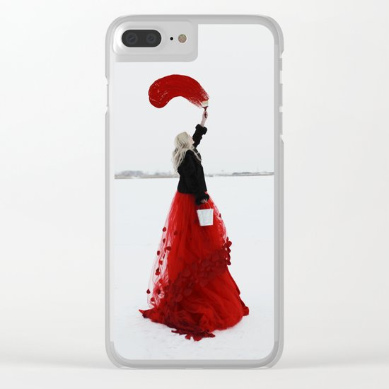 You colour your own path Clear iPhone Case