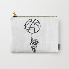 Basketball Skeleton Triko Ball Gift Carry-All Pouch