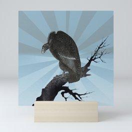 Old World Vulture Totem Mini Art Print