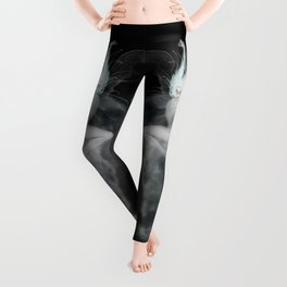 Air Witch - Elements Collection Art Print Leggings