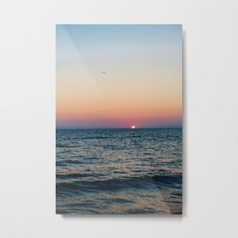 Dreamy Pastel Cape May Sunset Metal Print