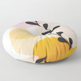 Abstract Shapes14 Floor Pillow