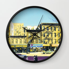 Americana - Harlem - DOTS - New York Wall Clock