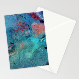 Dinnerparty abstract Stationery Cards