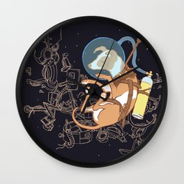 Muttnik Wall Clock