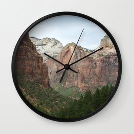 Let's Never Part Wall Clock