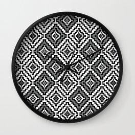 Indi-abstract#11 Wall Clock