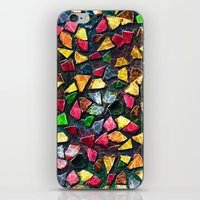mosaic iPhone & iPod Skins featuring Mosaic by Klara Acel