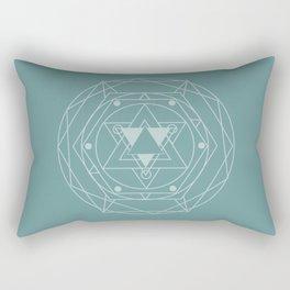 Vintage Module  Rectangular Pillow