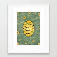 motivation Framed Art Prints featuring motivation by sandesign