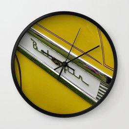 Yellow Bel Air Wall Clock