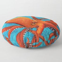Holding On - Octopus Floor Pillow